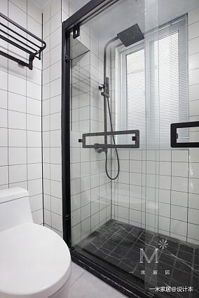 大气22平现代小户型卫生间装修图一居现代简约家装装修案例效果图