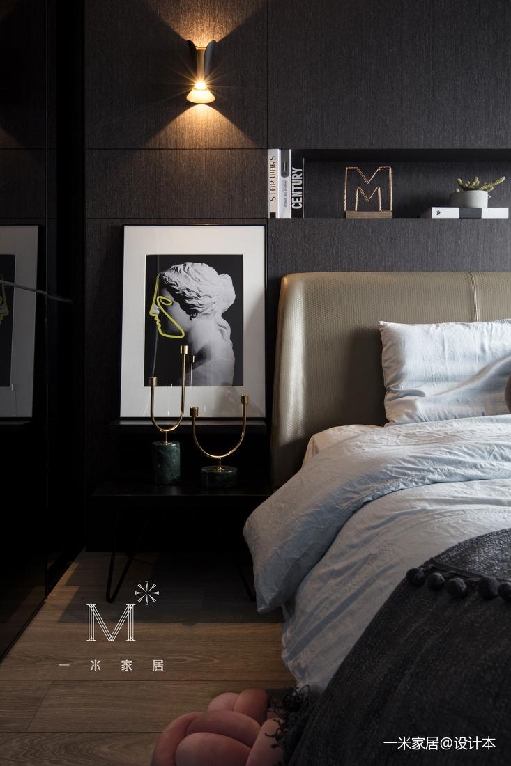 质朴28平现代小户型设计效果图一居现代简约家装装修案例效果图