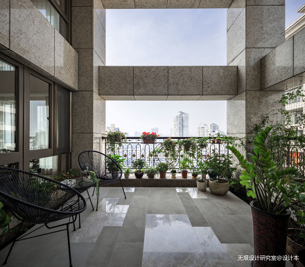 典雅79平现代复式花园设计美图