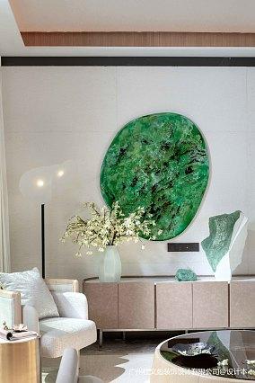 温馨357平现代别墅客厅设计效果图别墅豪宅现代简约家装装修案例效果图