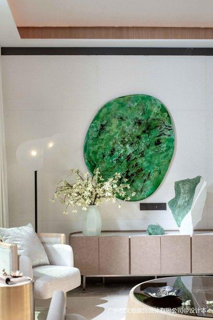 温馨357平现代别墅客厅设计效果图