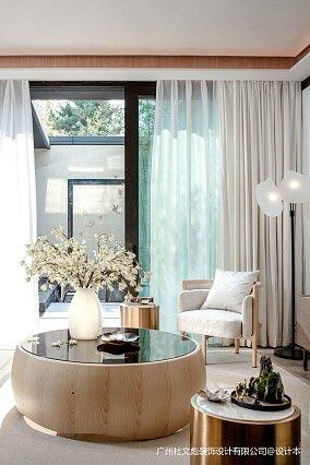 明亮767平现代别墅客厅设计图别墅豪宅现代简约家装装修案例效果图