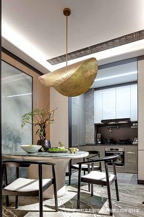 悠雅760平现代别墅餐厅图片欣赏别墅豪宅现代简约家装装修案例效果图