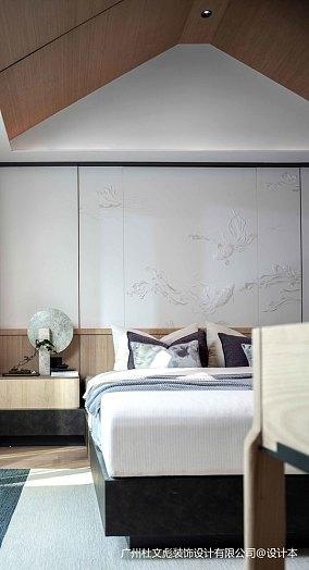华丽283平现代别墅卧室图片欣赏别墅豪宅现代简约家装装修案例效果图