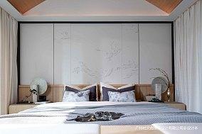温馨275平现代别墅卧室装修图片别墅豪宅现代简约家装装修案例效果图