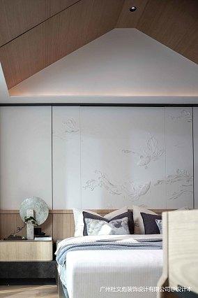 简洁969平现代别墅卧室装饰图别墅豪宅现代简约家装装修案例效果图