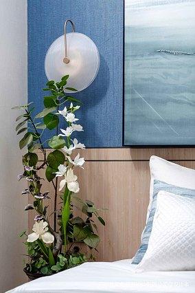 温馨689平现代别墅卧室设计效果图别墅豪宅现代简约家装装修案例效果图