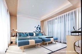 平现代别墅卧室装修设计图别墅豪宅现代简约家装装修案例效果图