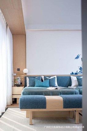 大气724平现代别墅卧室设计案例别墅豪宅现代简约家装装修案例效果图
