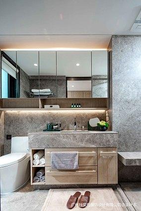 简洁633平现代别墅卫生间实拍图别墅豪宅现代简约家装装修案例效果图