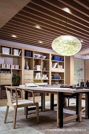 优雅750平现代别墅书房图片欣赏别墅豪宅现代简约家装装修案例效果图