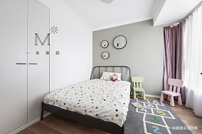 优美62平现代二居儿童房装饰图二居现代简约家装装修案例效果图