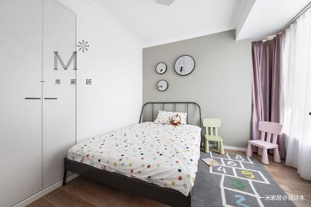 优美62平现代二居儿童房装饰图