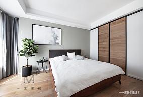 简洁74平现代二居卧室设计案例二居现代简约家装装修案例效果图