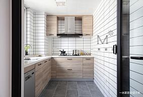 优雅70平现代二居厨房实拍图二居现代简约家装装修案例效果图