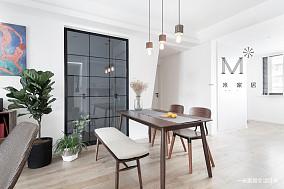 质朴77平现代二居餐厅装修图片二居现代简约家装装修案例效果图