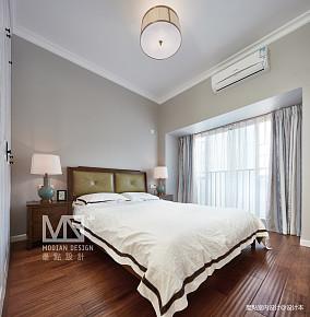 温馨153平美式四居卧室效果图四居及以上美式经典家装装修案例效果图