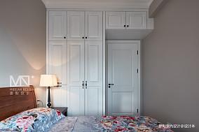 温馨109平美式四居卧室效果图四居及以上美式经典家装装修案例效果图