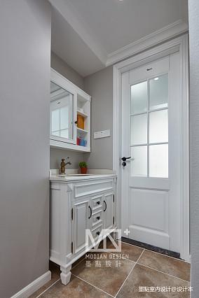 大气147平美式四居卫生间装潢图四居及以上美式经典家装装修案例效果图