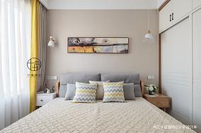 温馨123平北欧三居装修装饰图