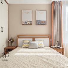 精致106平北欧三居卧室美图