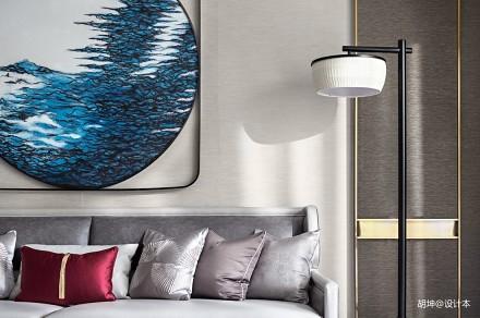 典雅347平中式样板间客厅装饰图