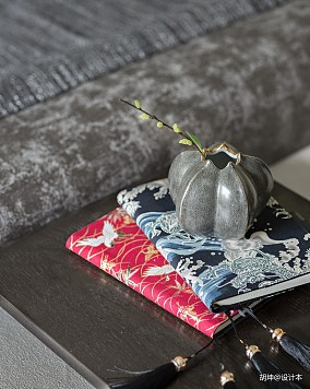 精美302平中式样板间卧室装修效果图样板间中式现代家装装修案例效果图