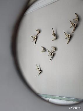 悠雅308平中式样板间卧室设计美图样板间中式现代家装装修案例效果图