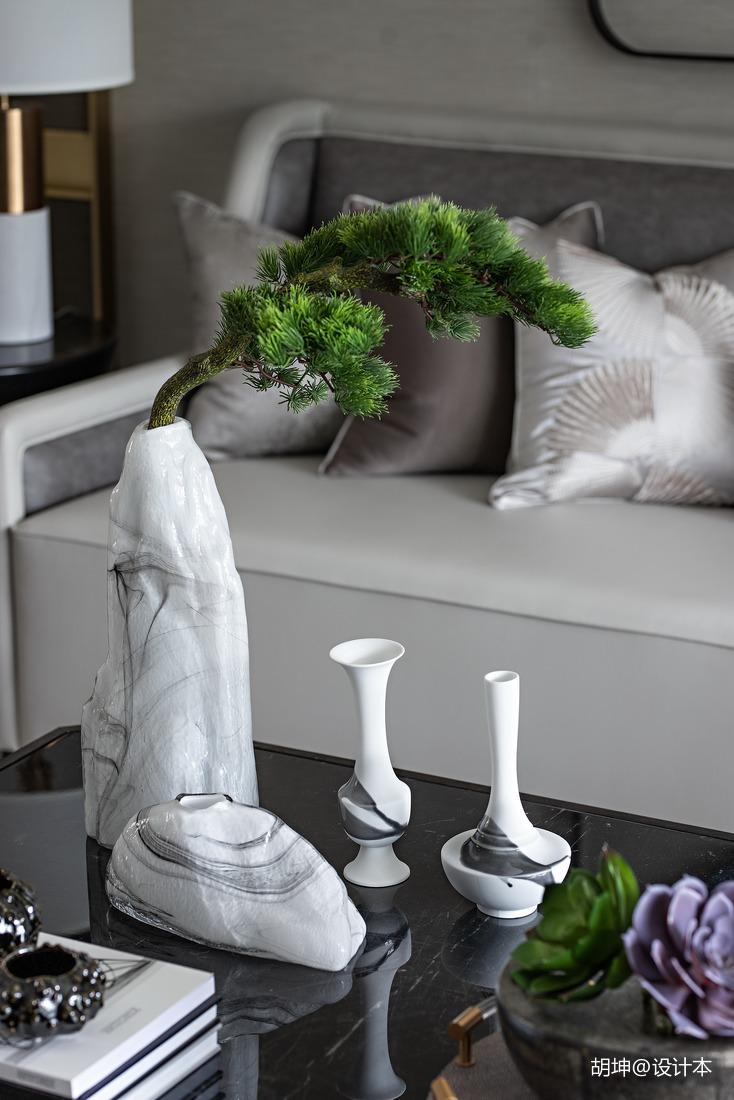 质朴336平中式样板间卧室装饰美图卧室中式现代卧室设计图片赏析