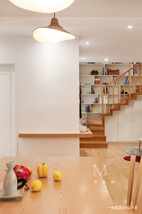 【一米家居】十三步走完的家90㎡质朴自然风潮流混搭设计图片赏析