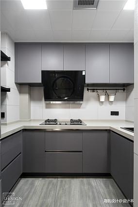 温馨111平现代三居厨房图片欣赏
