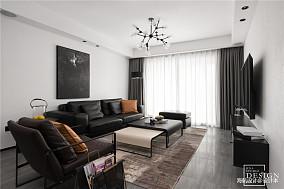 浪漫110平现代三居客厅装修美图