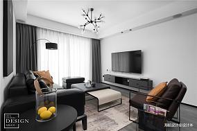 优雅108平现代三居客厅效果图片大全