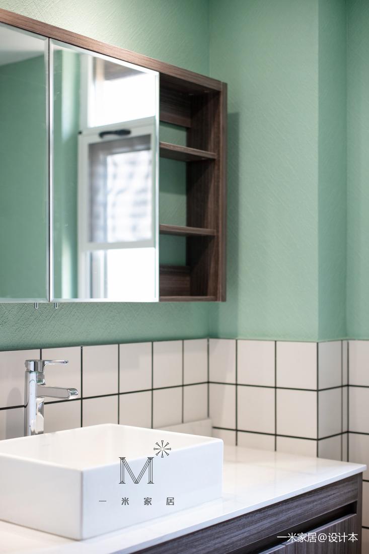 優雅66平混搭二居裝潢圖衛生間潮流混搭衛生間設計圖片賞析