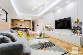 典雅78平简约二居客厅美图