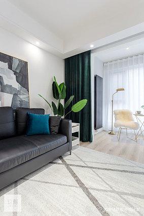 质朴72平现代二居客厅装修美图