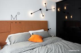 优雅69平简约二居图片大全二居现代简约家装装修案例效果图