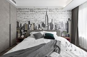 优雅65平简约二居客厅效果图欣赏二居现代简约家装装修案例效果图