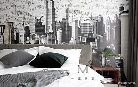 精美100平简约二居装潢图二居现代简约家装装修案例效果图