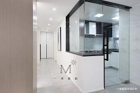 华丽53平简约二居厨房设计案例二居现代简约家装装修案例效果图
