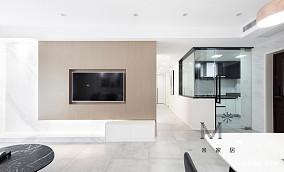 平简约二居案例图二居现代简约家装装修案例效果图