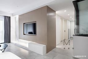 悠雅83平简约二居装修效果图二居现代简约家装装修案例效果图