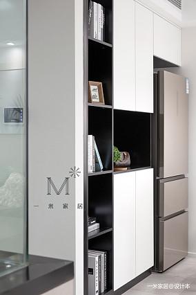 温馨89平简约二居厨房实拍图二居现代简约家装装修案例效果图