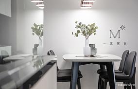 大气65平简约二居设计美图二居现代简约家装装修案例效果图