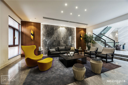 450㎡墅式客厅设计图