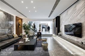 明亮802平现代别墅客厅装饰美图
