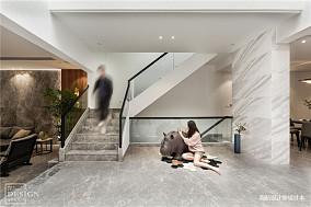 简洁450平现代别墅装修装饰图