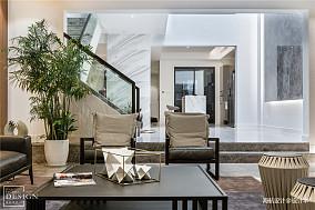 明亮613平现代别墅客厅装饰图片