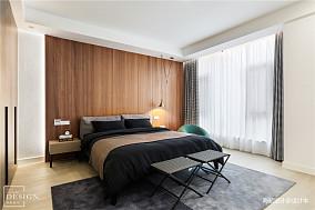 质朴208平现代别墅卧室效果图欣赏