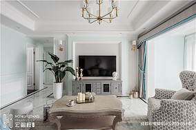 优雅120平法式四居装修图片